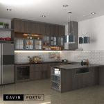 Review Kitchen Set Design Minimalis Modern Project Perumahan Kembang Larangan Tangerang Gavin by Portu